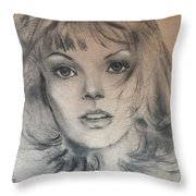 Renee Russo Throw Pillow