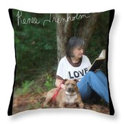 Renee Trenholm . Signed Throw Pillow by Renee Trenholm