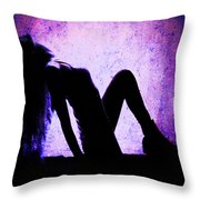 Renew And  Repeat V4 Throw Pillow
