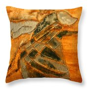 Renewal - Tile Throw Pillow