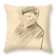 Renoir (first Plate) Throw Pillow