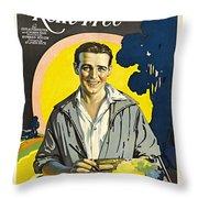 Rent Free Throw Pillow