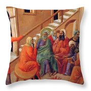 Renunciation Of Peter 1311 Throw Pillow