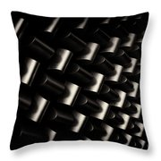 Repeating Patterns Throw Pillow