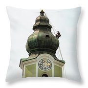Repelling  Throw Pillow