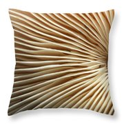 Repetishroomin Throw Pillow