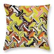 Repetitious Throw Pillow