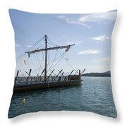 Replica Of Argo Throw Pillow