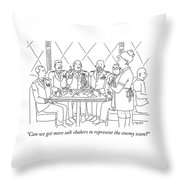 Representing Enemy Scum Throw Pillow