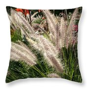 Reptile Garden Plantsi Throw Pillow
