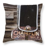 Repurposed Throw Pillow