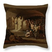 Rescue Captives In Times Of Carlos IIi Inglada Aparicio And Jose Throw Pillow