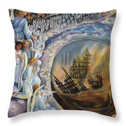 Rescue Of The Innocent Throw Pillow