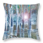 Rescued By The Lord Throw Pillow