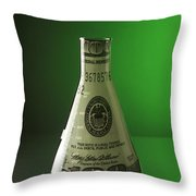 Research Funding Throw Pillow