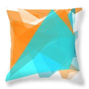 Research Polygon Pattern Throw Pillow