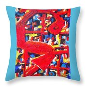 Resentment Simmering Below The Surface Throw Pillow