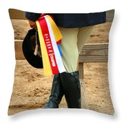 Reserve Champion Throw Pillow