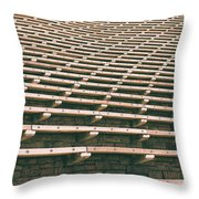 Reserved Seats Throw Pillow