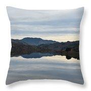 Reservoir Reflection Throw Pillow
