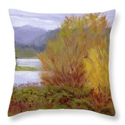 Reservoir Spring Throw Pillow