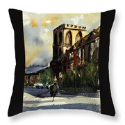 Residences, Catholic University Throw Pillow