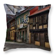 Residential Neighborhood Throw Pillow