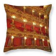 Residenz Theatre 2 Throw Pillow