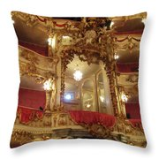 Residenz Theatre 5 Throw Pillow
