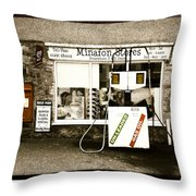 Resist Change - Village Shop Part1 Throw Pillow
