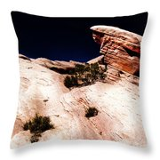 Resistant Boulder Valley Of Fire Throw Pillow