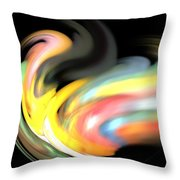 Resonant Frequency Throw Pillow
