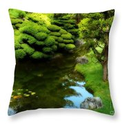 Rest By The Pond Throw Pillow