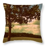 Rest Throw Pillow by Diane Reed