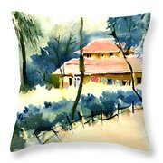 Rest House Throw Pillow