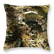 Rest In Peace Henry David Thoreau Throw Pillow