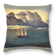 Rest In The Midst Throw Pillow