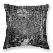 Taking A Load Off Throw Pillow