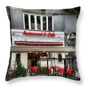 Restaurant And Cafe Throw Pillow