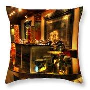 Restaurant Interior 1 Throw Pillow