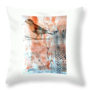 Restful Moment Throw Pillow