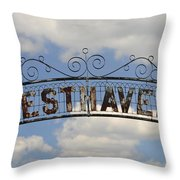 Resthaven Throw Pillow