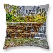Resting Falls Throw Pillow