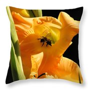 Resting In Petal Shade Throw Pillow