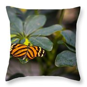 Resting Nymph Throw Pillow