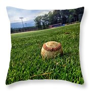 Resting Pitch Throw Pillow