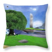 Resting Place / Legacy Throw Pillow