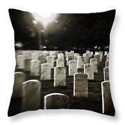 Resting Place Throw Pillow by Scott Pellegrin
