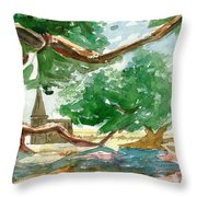 Resting Shadow Throw Pillow