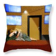 Resting Under The Light Throw Pillow